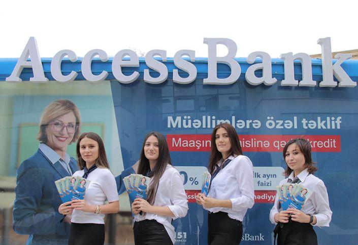"""Müəllimlər """"""""AccessBank""""a bir 5"""" deyəcək!"""