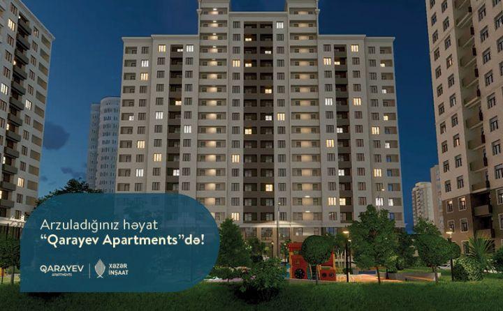 """Yaşıllıqların əhatəsində bir ömür – """"Qarayev Apartments""""!"""